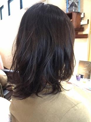 【西新の美容室リエット】リラックスルーズ☆ミディのサムネイル
