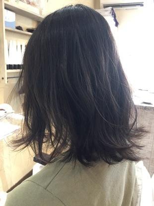 【西新の美容室リエット】アンニュイ☆ニュアンスミディのサムネイル