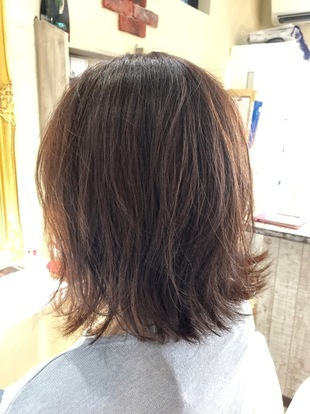 【西新の美容室リエット】大人カワイイ☆外ハネ ー ボブのサムネイル