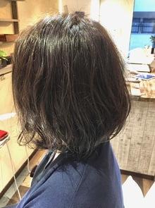 【西新の美容室リエット】切りっぱなしルーズ☆ショート