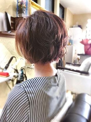 【西新の美容室リエット】ルーズ質感の☆小顔ボブ☆のサムネイル