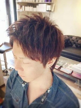 【西新の美容室リエット】アップバング×メンズのサムネイル