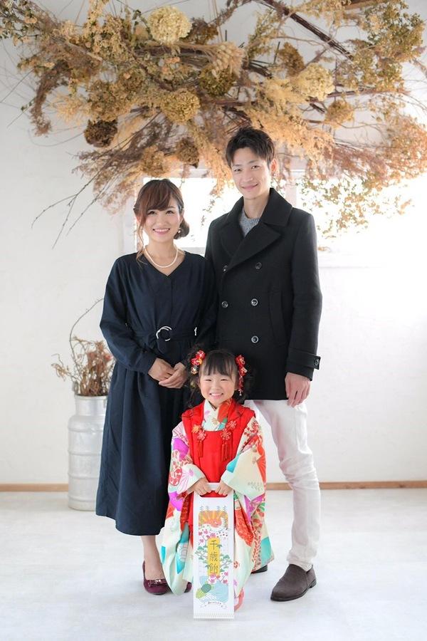 【西新の美容室リエット】娘の七五三in名島神社