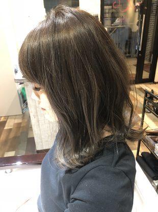 【西新の美容室リエット】アッシュベージュ×3Dカラーのサムネイル