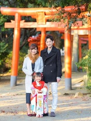 【西新の美容室リエット】東区の名島神社にて☆七五三のサムネイル