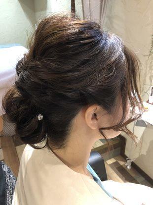 【西新の美容室リエット】大人気波ウェーブ×くるりんぱのサムネイル