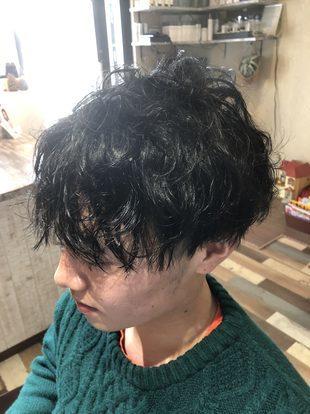 【西新の美容室リエット】マッシュ×水パーマ(サイド)のサムネイル