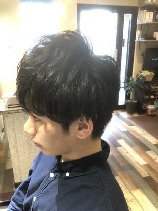 【西新の美容室リエット】爽やか☆就活メンズ(サイド)のサムネイル