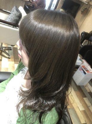 【西新の美容室リエット】アディクシーカラーによるグレイ☆シルバー感のサムネイル